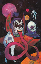 Image: Kiss #9 (cover D incentive - Strahm Virgin) (10-copy) - Dynamite