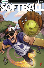 Image: Softball #1 (cover B - Blankenship)  [2017] - Keenspot Entertainment