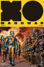 Image: X-O Manowar [2017] #4 (cover A - Larosa) - Valiant Entertainment LLC
