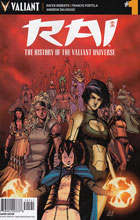 Image: Rai: The History of the Valiant Universe #1 (Gill incentive cover - 50141) (10-copy) - Valiant Entertainment LLC