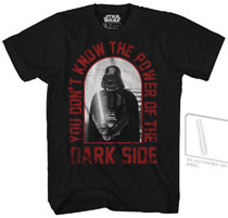 Image: Star Wars T-Shirt: Red Core [Black UV-Ink]  (L) - Mad Engine