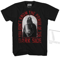 Image: Star Wars T-Shirt: Red Core [Black UV-Ink]  (XL) - Mad Engine