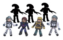 Image: Alien: Covenant Minimates Assortment  - Diamond Select Toys LLC