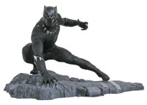 Image: Marvel Gallery PVC Figure: Captain America: Civil War - Black Panther  - Diamond Select Toys LLC