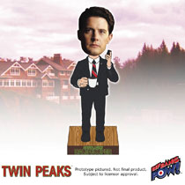 Image: Twin Peaks Bobble Head: Agent Dale Cooper in Red Room  - Bif Bang Pow