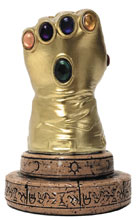 Image: Marvel Previews Exclusive Infinity Gauntlet Desk Monument  - Surreal Entertainment