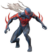 Image: Marvel Now! ArtFX+ Statue 1/10 Scale Pre-Painted Model Kit: Spider-Man 2099  - Koto Inc.