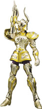 Image: Saint Seiya Action Figure: Glittering Excalibur Capricorn Shura  - Tamashii Nations