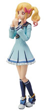 Image: Aikatsu Yume Nijino S.H.Figuarts Action Figure  (Winter Uniform version) - Tamashii Nations