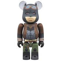 Image: Batman vs. Superman Bearbrick: Knightmare Batman  (100 Bea) - Medicom Toy Corporation