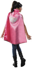 Image: DC Heroes Child Cape: Supergirl  (Pink) - Rubies Costumes Company Inc
