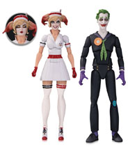 Image: DC Designer Series Bombshells Action Figure 2-Pack: Nurse Harley & Joker  - DC Comics