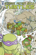 Image: Teenage Mutant Ninja Turtles #83 (incentive cover - Ulises Farinas) (10-copy) - IDW Publishing