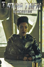 Image: Star Trek: Discovery - Succession #3 (cover B - Photo) - IDW Publishing