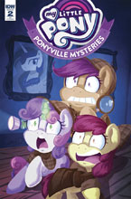 Image: My Little Pony: Ponyville Mysteries #2 (incentive cover - Abigail Starling) (10-copy) - IDW Publishing