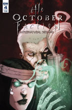 Image: October Faction Supernatural Dreams #4 (cover B - Worm) - IDW Publishing