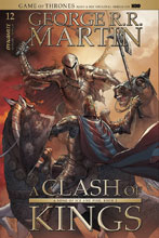 Image: Game of Thrones: Clash of Kings #12 (cover A - Miller) - Dynamite