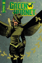 Image: Green Hornet #4 (cover A - McKone) - Dynamite
