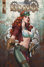Image: Legenderry Red Sonja #5 (cover A - Benitez) - Dynamite