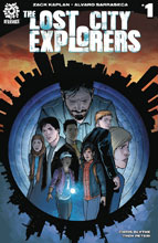 Image: Lost City Explorers #1 (cover B - Sarraseca) - Aftershock Comics