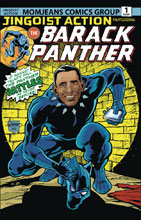 Image: Barack Panther #1 - Antarctic Press
