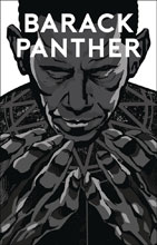 Image: Barack Panther #1 (variant cover - Silver Screen) - Antarctic Press