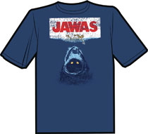 Image: Jawas Vintage Distressed T-Shirt  (XL) - Antarctic Press