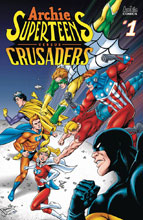 Image: Archie's Superteens vs. Crusaders #1 (cover B - Grummett) - Archie Comic Publications