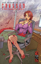Image: Crossed Plus 100 Mimic #4 (variant cover - Crossing Over Bloody) - Avatar Press Inc