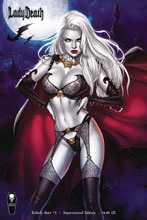 Image: Lady Death: Unholy Ruin #2 (variant Supernatural cover -) - Coffin Comics