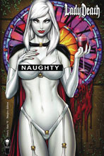 Image: Lady Death: Unholy Ruin #2 (variant Naughty cover -) - Coffin Comics
