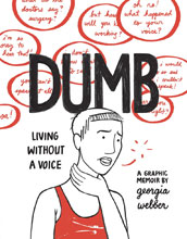 Image: Dumb Living Without a Voice: Webber HC  - Fantagraphics Books