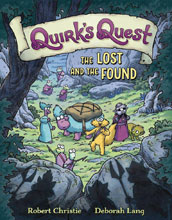 Image: Quirk's Quest Vol. 02: Lost and the Found HC GN  - First Second (:01)