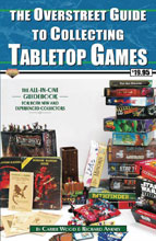 Image: Overstreet Guide Collecting Tabletop Games SC  - Gemstone Publishing