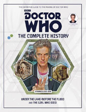 Image: Doctor Who Complete History Vol. 74: 12th Doctor Stories  (255-256) HC - Hachette Partworks