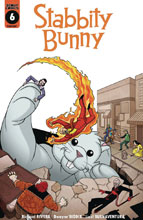 Image: Stabbity Bunny #6 (cover B) - Scout Comics