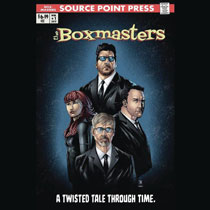 Image: Boxmasters: Twisted Tale Through Time GN  - Source Point Press