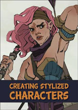 Image: Creating Stylized Characters HC  - 3D Total Publishing