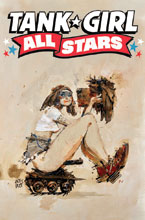 Image: Tank Girl: All-Stars #1 (cover B - Wood) - Titan Comics