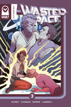 Image: Wasted Space #3 (cover A - Sauvage) - Vault Comics