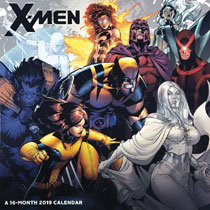 Image: X-Men 2019 Wall Calendar  - Landmark Calendars