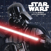 Image: Star Wars Saga 2019 Wall Calendar  - Trends Intl