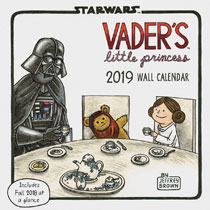 Image: Vaders Little Princess 2019 Wall Calendar  - Chronicle Books