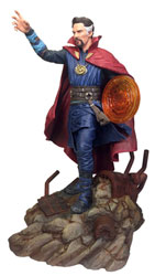 Image: Marvel Gallery Avengers 3 PVC Statue: Doctor Strange  - Diamond Select Toys LLC