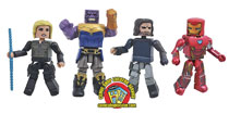 Image: Marvel Avengers 3 Minimates Box Set  - Diamond Select Toys LLC