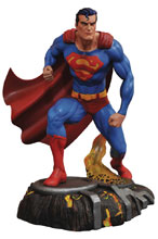 Image: DC Gallery PVC Statue: Superman Comic  - Diamond Select Toys LLC