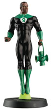 Image: DC Superhero Best of Figure Collectible Magazine #57 (Green Lantern John Stewart) - Eaglemoss Publications Ltd