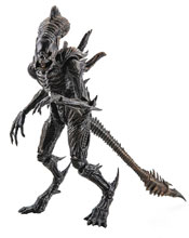 Image: Aliens Colonial Marine Figure: Xenomorph Raven  (1/18 Scale) - Hiya Toys