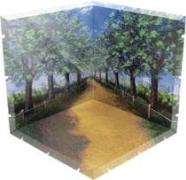Image: Dioramansion 150 Figure Diorama: Tree Lined Path  - Plm