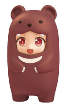 Image: Nendoroid More Brown Bear Face Parts Case  - Good Smile Company